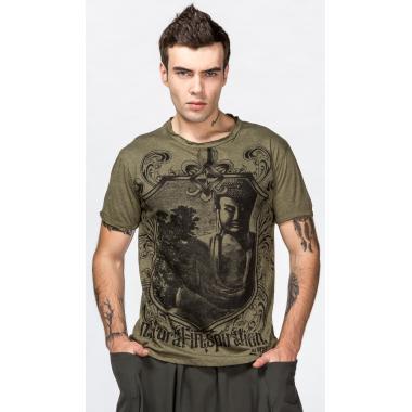 Мужская футболка Медитирующий Будда.
