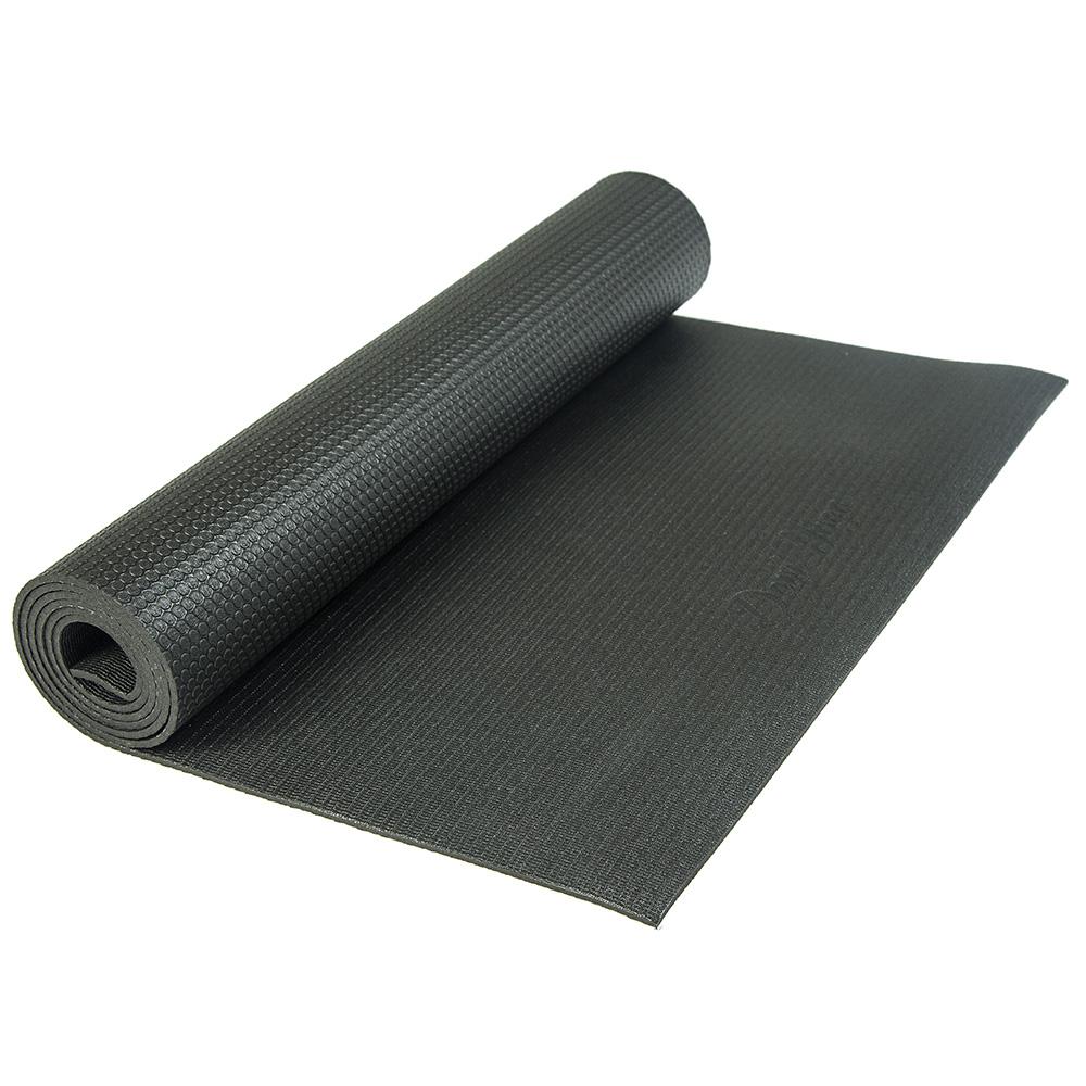Коврик для йоги Elements черный