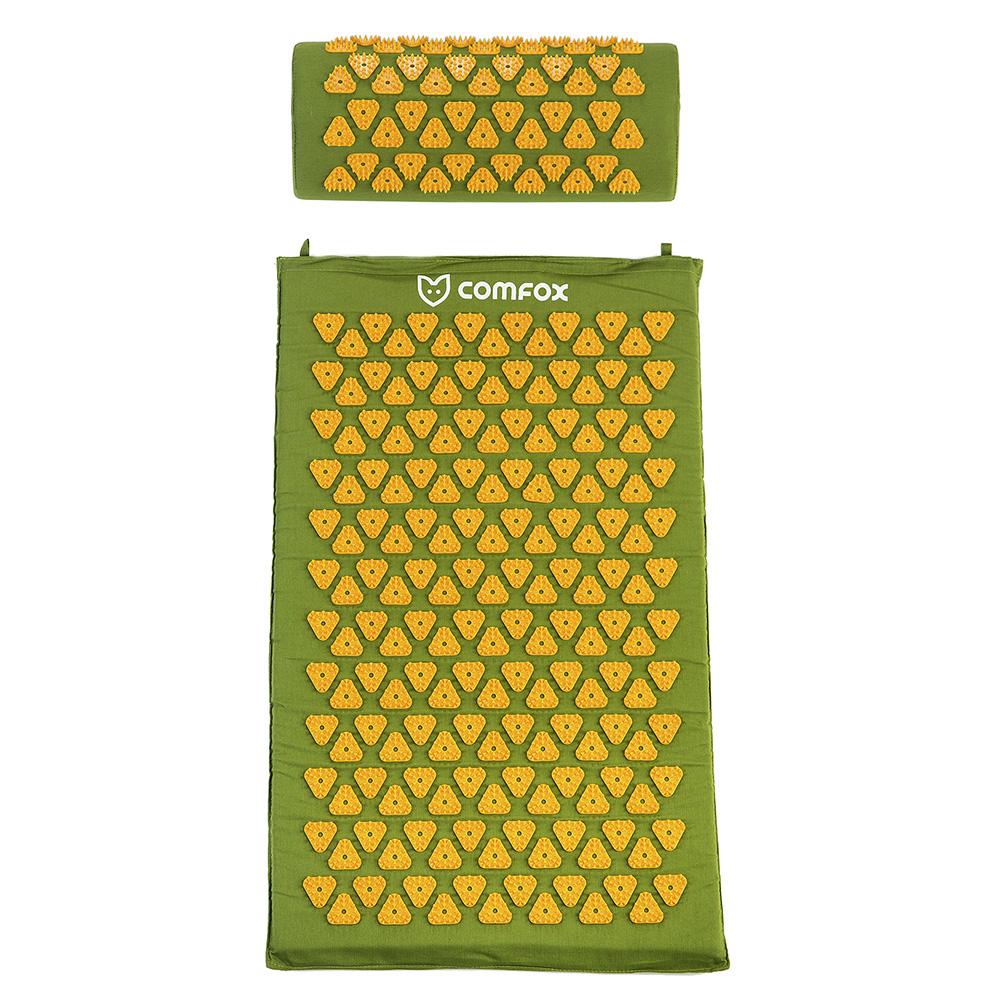 Набор массажный коврик и валик Comfox