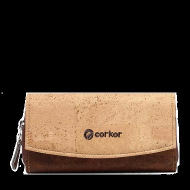 Corkor женский кошелек из пробки.