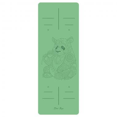 "Натуральный коврик из каучука ""Панда"""