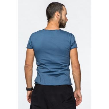 Мужская футболка цвета индиго