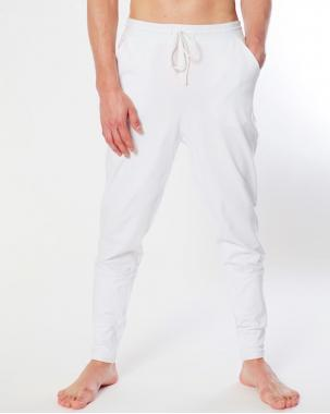 Штаны для практик белые DO YOGA