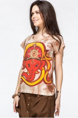Женская футболка Царский слон.