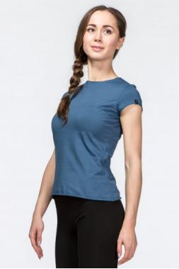Женская футболка для йоги