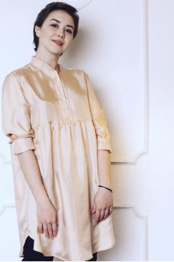 Рубашка-туника (шелк)