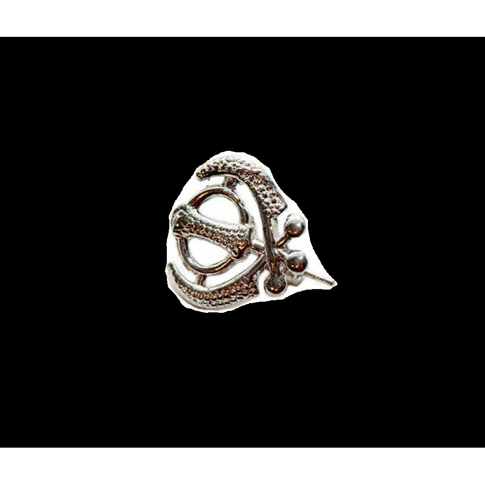 Брошь - Кханда (серебро)