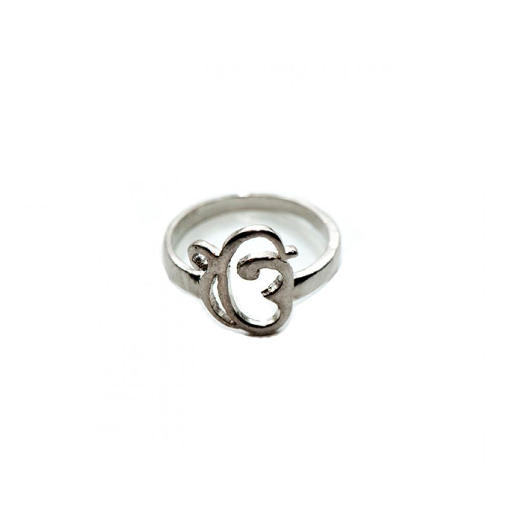 Кольцо - ЭкОнгКар (серебро)