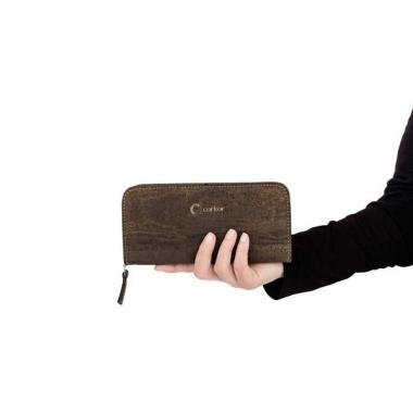 Corkor женский кошелек на молнии