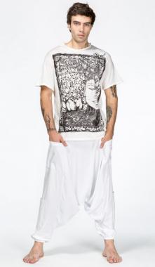 Белые шаровары Кумбха.